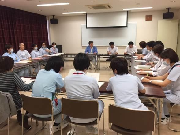 月1回の緩和ケアチーム委員会:第1木曜日